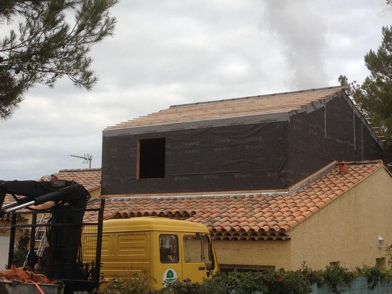 Agrandissement maison bois - Peypin - 13 - Marseille - Aubagne