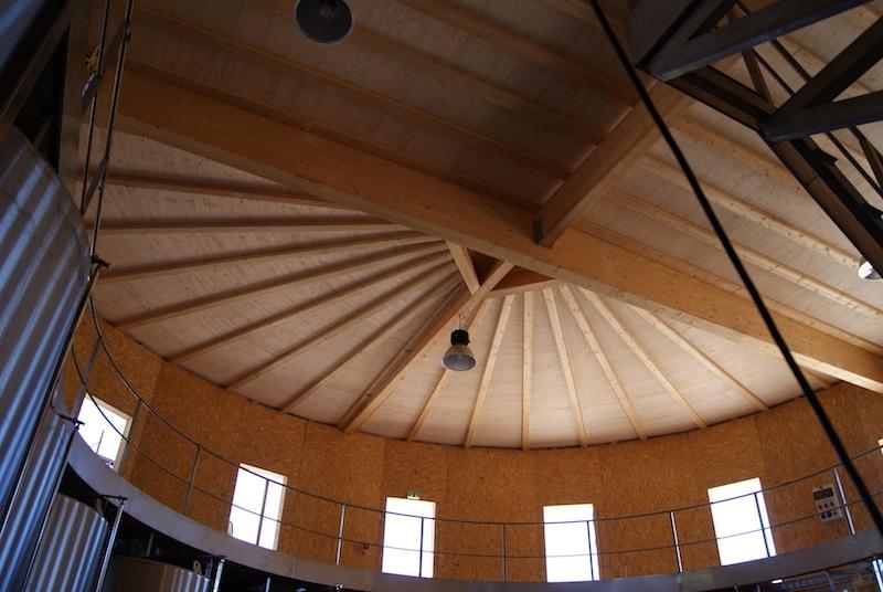 Charpente et toiture bois en arrondi - Peypin 13 - La Maison Bois